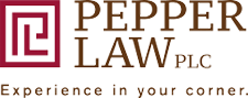 Logo of Pepper Law, PLC